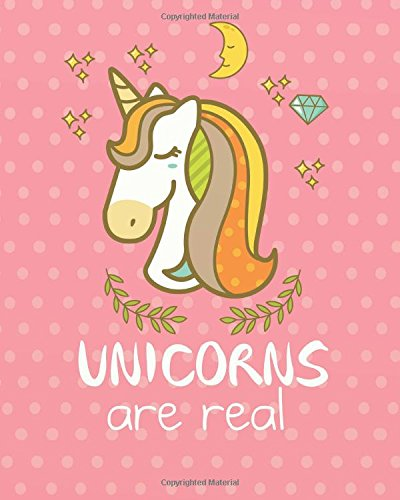 """Unicorns are real: Unicorn Sketchbook for Girls: 124 Pages   of 8""""x10"""" Blank Paper for Drawing And   Sketching (Unicorn Sketchbook for Girls Series) (Volume 39) pdf epub"""