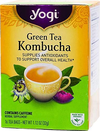 Yogi Tea Kombucha Green Tea 16 ea