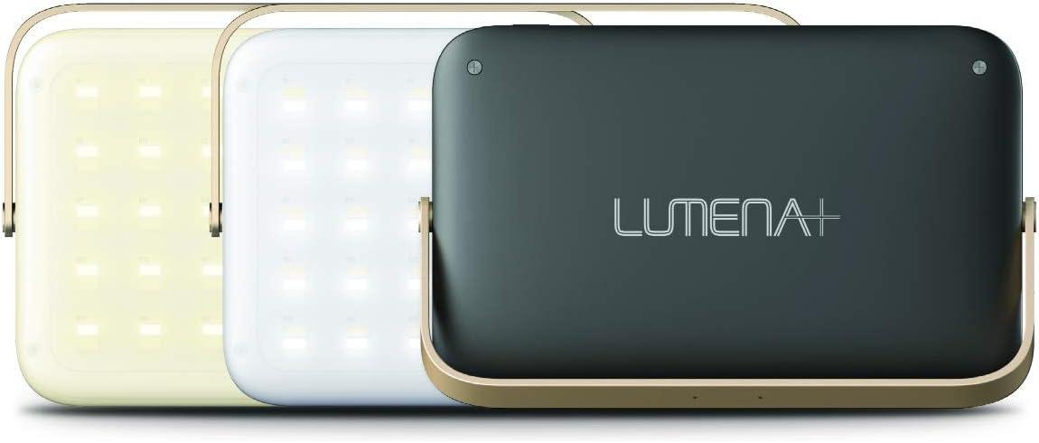 NNINE LUMENA(ルーメナー)プラス LEDランタン ブラック