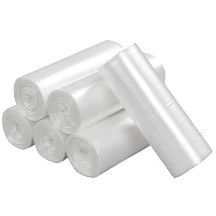 Ponpong 40L Transparente bolsas de basura de la basura de la ...