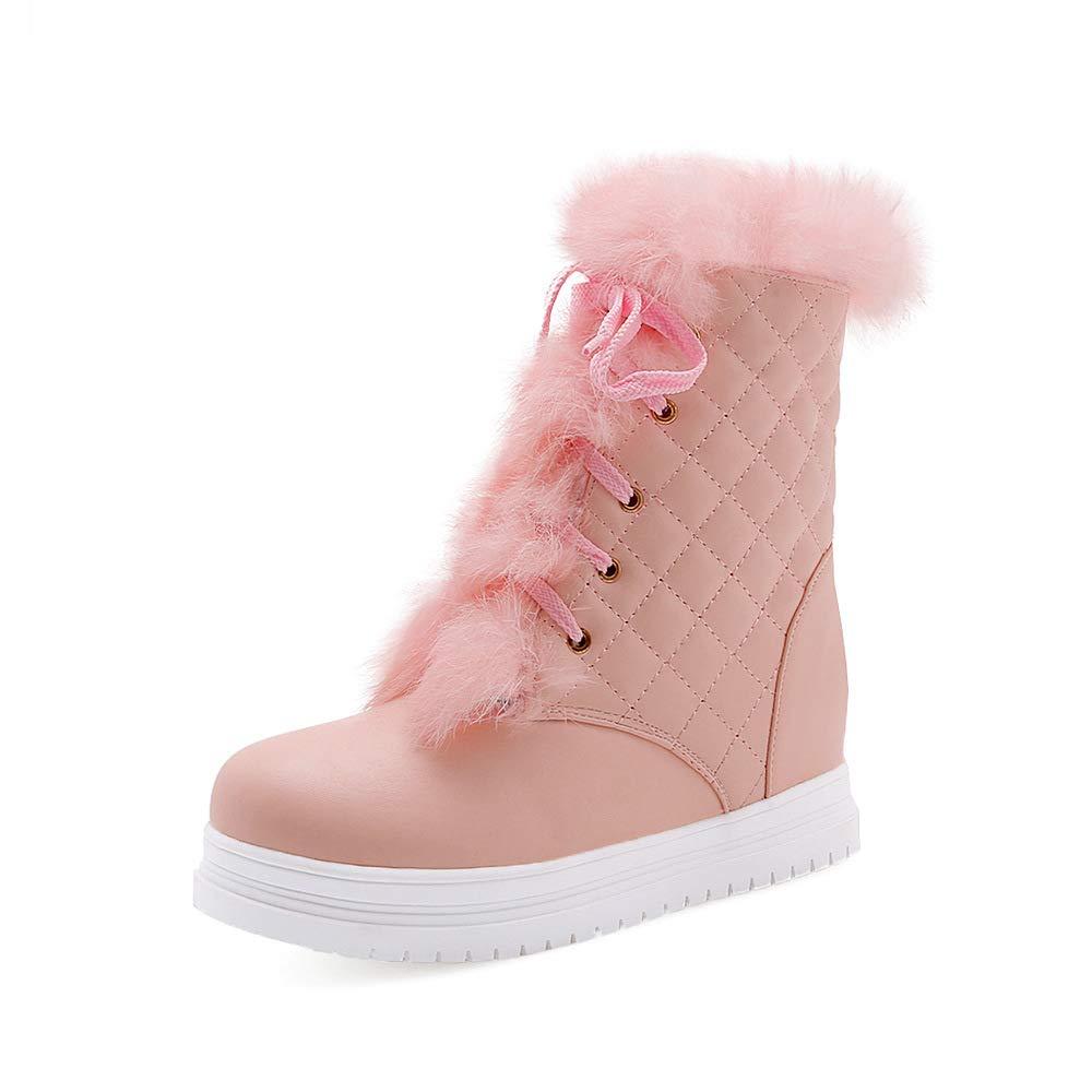 QINGMM Frauen Arbeiten Schnee Stiefel Stiefel Stiefel 2018 Winter Plattform Im Freien Warme Baumwolle Stiefel Größe 40-43 b1f20d