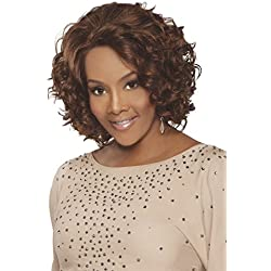 Vivica A. Fox CHANTE-V Remi Human Hair, Deep Lace Front Wig in Color P42730