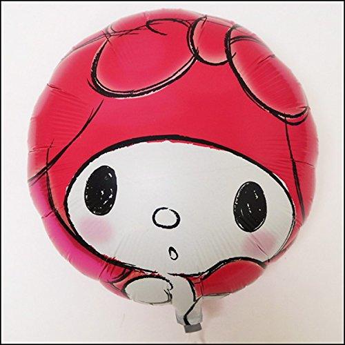 キャラクターUFO風船 マイメロディ(100枚) 糸付  219   B07D269469