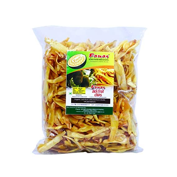 Fanas Agro Food Processing Jack Fruit Chips-500gm