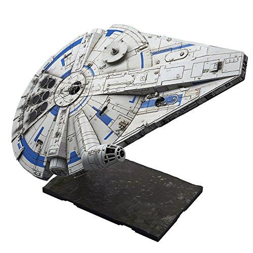 (Bandai Hobby Star Wars 1/144 Plastic Model Millennium Falcon (Lando Calrissian Ver.)