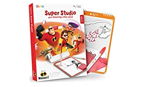 Osmo - Super Studio Learn To Draw Your Favorite Incredibles 2 Characters Game - Ages 5-11 - Watch Them Come to Life - For Ipad & Fire Tablet Base Required)