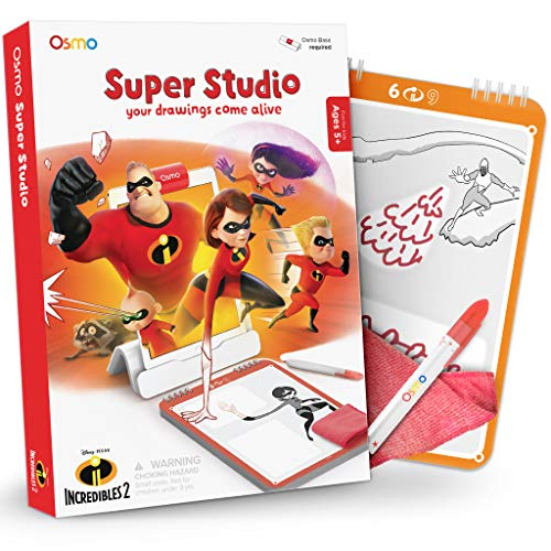 Osmo Super Studio Learn to Draw Incredibles 2 Only $11.99