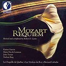 Mozart: Requiem - Revised and completed by Robert D. Levin