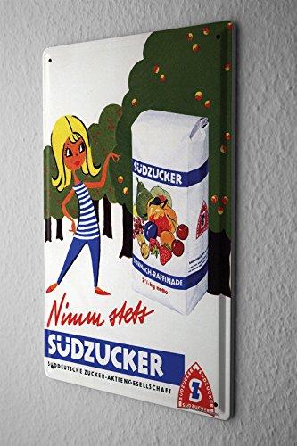 tin-sign-sudzucker-werbeschild-take-always-sudzucker-fructose-advertising-past-old-school-20x30-cm