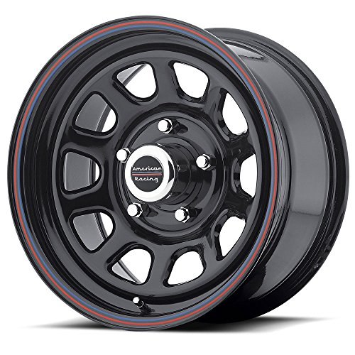 American Racing Series AR767 Gloss Black Wheel (15x8''/5x4.5'') by American Racing