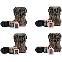 Stealth Cam 8MP Infrared Scouting Game Trail Cameras w/ SDs (4 Pack) | PX18CMO