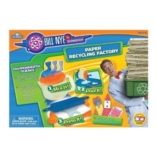 - Elmer's Education Bill Nye Paper Recycling Factory