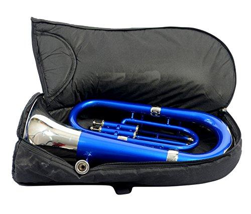 MOONFLAG Euphonium Blue + Nickel Bb 3 valve by NASIR ALI (Image #2)