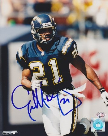 73bd84954 Eric Metcalf Signed - Autographed San Diego Chargers 8x10 inch Photo at  Amazon's Sports Collectibles Store