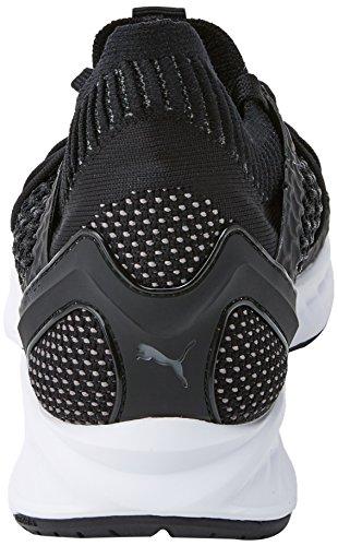 Netfit De Puma quiet white Hombre Zapatillas Para Deporte Exterior Shade black Negro Ignite ffwp5A