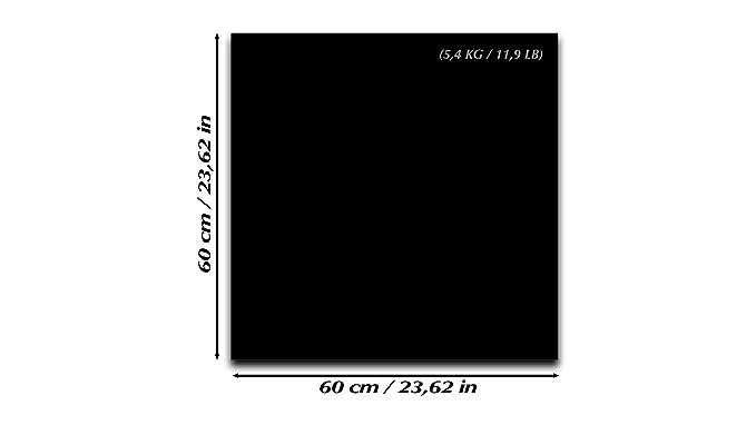 Pizarra magnética de cristal templado – Pizarra magnética borrado en seco