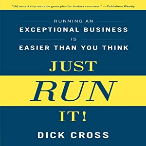 Just Run It! Audiobook