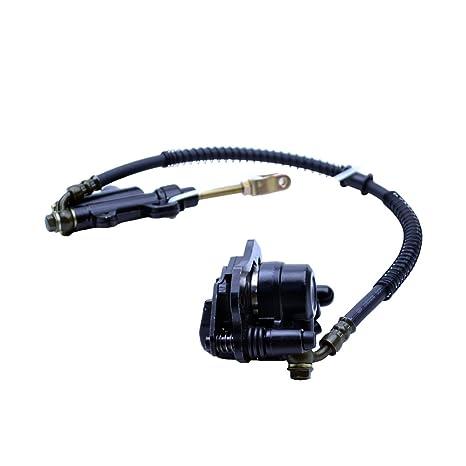 JONASC Rear Foot Hydraulic Brake Master Cylinder Fits 50cc 70cc 90cc 110cc 125cc Dirt Bike Chinese ATV Quad Taotao Sunl Roketa NST Peace