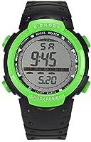 WinnerEco Fashion Waterproof Men LED Digital Stopwatch Date Rubber Sport Wrist Watch