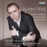 Denys Proshayev Piano Concerto/5 Aphorisms/Gogol Suite Piano
