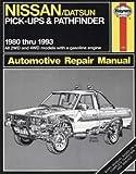 Nissan/Datsun Pick-Ups and Pathfinder, 1980-1993 (Haynes Automotive Manuals, 771)
