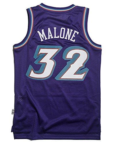 d426669e6f4 Karl Malone Utah Jazz Adidas NBA Throwback Swingman