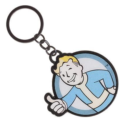 Fallout Llavero de Metal Nueva Ke3J6Efof: Amazon.es ...