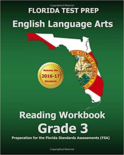 FLORIDA TEST PREP English Language Arts Reading Workbook Grade 3 ...