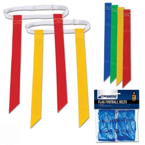 - CHAMPRO Flag Football Belts/Flags (6-Pack)