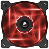 Corsair Air Series AF120 LED Quiet Edition High Airflow Fan Single Pack - Red
