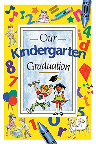 - Pack of 150 Our Kindergarten Graduation Program Cover Set 2 (6x9in)