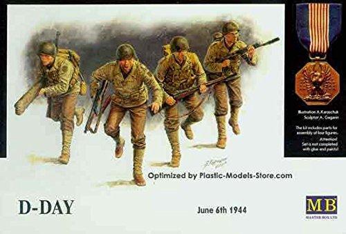 D-Day, 6th June 1944 Omaha beach 1/35 Master Box 3520 /item# R6SG5EB-48Q17940 -