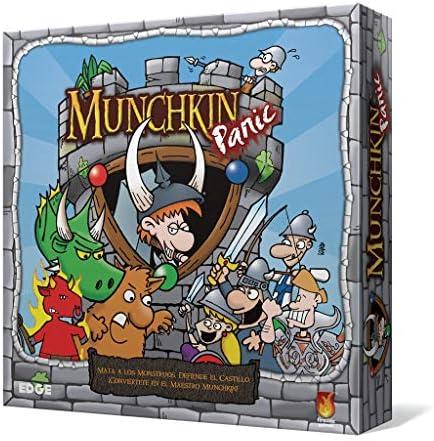 Edge Entertainment Munchkin Panic-español. (EDGMP01): Amazon.es: Juguetes y juegos