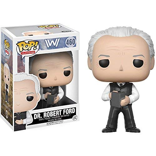 jegnaptujavvaofu Dr. Robert Ford: Funko POP! TV x Westworld Vinyl Figure + 1 Free American TV Themed Trading Card Bundle (13524)