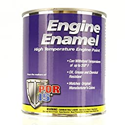 POR-15 42034 Black Engine Enamel - 1 quart