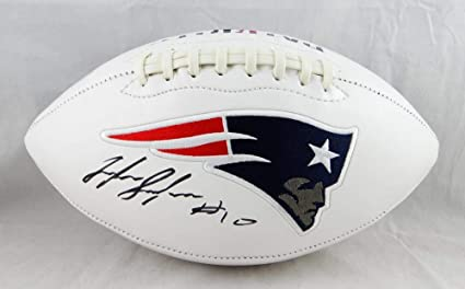 f08e81e4 Image Unavailable. Image not available for. Color: Josh Gordon Autographed  New England Patriots ...