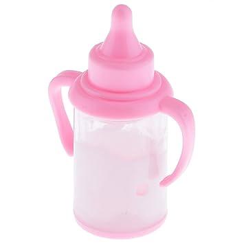 Gazechimp Juguete Mini Plástico Botella Infantil de Alimentación de Bebé para Muñecas de Barbie Kelly -