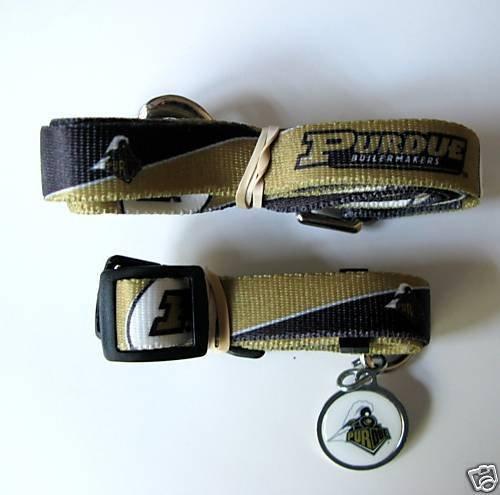 Hunter Purdue University Pet Combo Set (Collar, Lead, ID Tag), X-Small