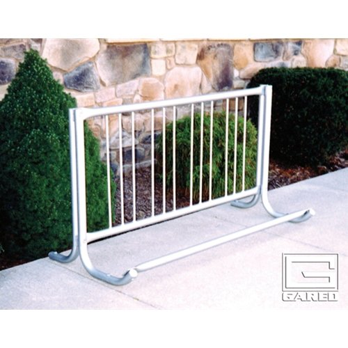 Modern Single Sided Bike Rack (10 ft.) -