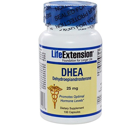 Life Extension DHEA, 25 Mg, 100 capsules
