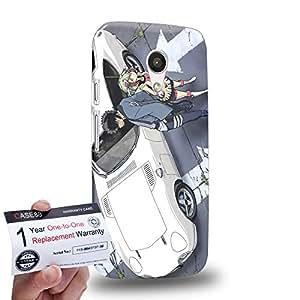 Case88 [Motorola Moto G (2nd Gen)] 3D impresa Carcasa/Funda dura para & Tarjeta de garantía - Dimension W Kyouma Mabuchi Mira Yurizaki 3150