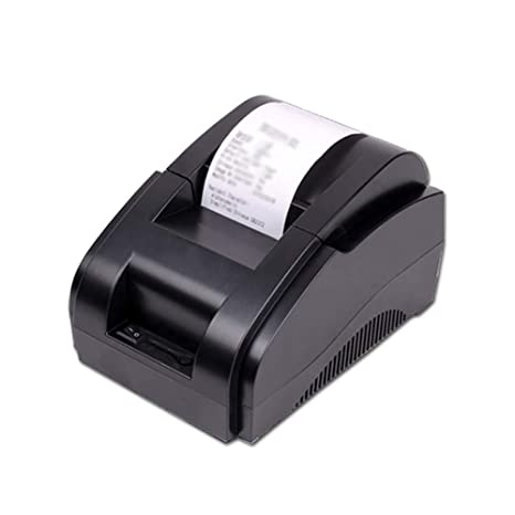 H&T Impresora térmica de Recibos USB + Bluetooth, Impresora ...