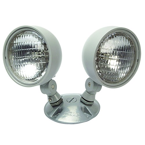 NICOR Lighting Dual Emergency Remote Lamp Head Fixture (R...