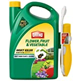 vegetable and fruit spray - Ortho Flower, Fruit and Vegetable Insect Killer with Comfort Wand, 1-Gallon (Garden Insecticide)