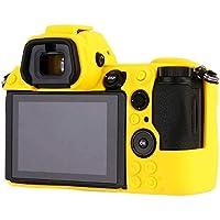 Bindpo Funda de Silicona para cámara para Nikon Z6 Z7, Carcasa Protectora de Goma Suave(Amarillo)
