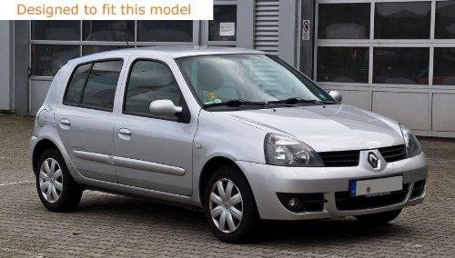 Red JCM Front /& Rear Badge Wraps fits Renault Clio MK2 1998-2006
