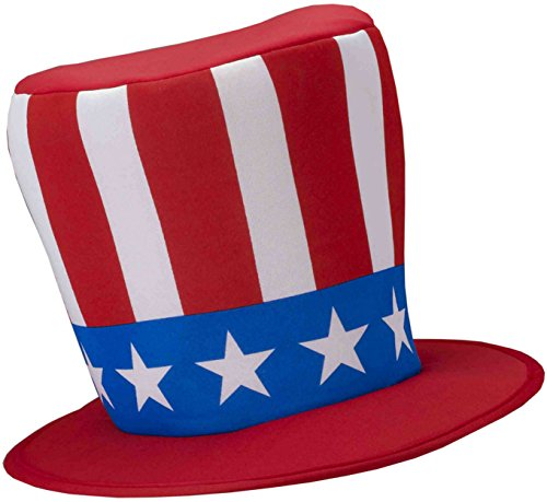 - Patriotic Top Hat Costume Accessory