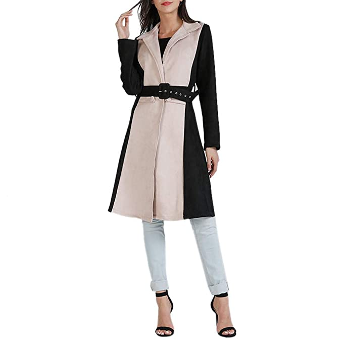 Amazon.com: AOJIAN Women Jacket Long Sleeve Outwear Temperament Cardigan Elegant Maxi Overcoat Trench Long Coat: Clothing