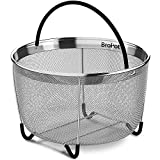 Steamer Basket - Instant Pot Accessories - Vegetable Steamer Basket - EXCLUSIVE Steamer Basket 6qt Pressure Cooker Accessories Fits Insta Pot IP InstaPot Food Steamer Rice Cookers and Pots 6 qt 8qt