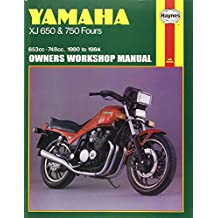 Yamaha XJ 650 and XJ 750 Fours Owners Workshop Manual, No. M738: '80-'84